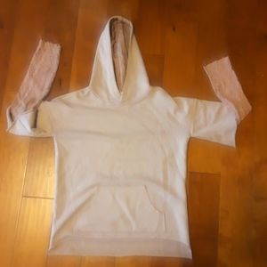 GILDED INTENT PIECED HOODIE